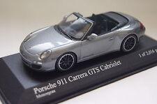 Porsche 911 Carrera GTS (997 II) Cabrio grau 1:43  Minichamps neu & OVP400069531