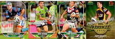 SELECT NRL 2011 CHAMPIONS PROMO CARDS FULL SET (4)