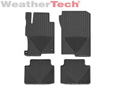 WeatherTech All-Weather Floor Mats for Honda Accord Sedan - 2013-2016 - Black