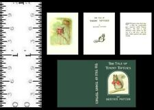 1:12  SCALE MINIATURE BOOK BEATRIX POTTER THE TALE OF TIMMY TIPTOES