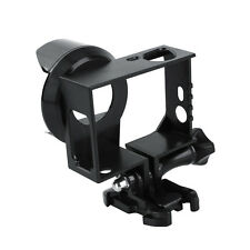 For GoPro HERO 3 3+ 4 BLK Lens Border Case Frame Mount Home + UV Protector