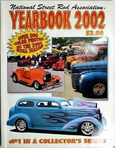2002 National Street Rod Association Collectible Yearbook NSRA Hot Rod Pictures