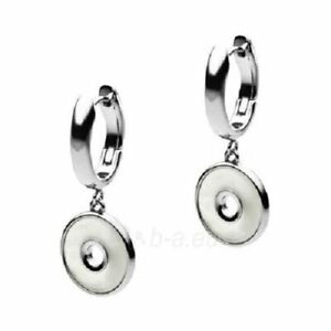 Emporio Armani EGS2001040 Mother of Pearl Stainless Steel Ladies Earrings