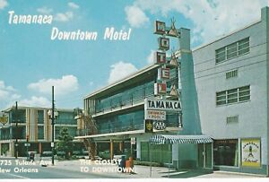 New Orleans, LA - Tamanaca Downtown Motel - Exterior and Signage