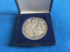 Medaille: Kaiser Franz Josef u. Elisabeth. 1000 Jahre Österreich, 925 Silber
