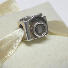 New Authentic Pandora Charm 791961 Camera Bead Box Included
