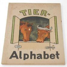 Animal Alphabet Book In German Hete Koppen c.1945