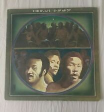 Vintage 1973 Columbia Records The O'Jays Ship Ahoy Vinyl Record VG