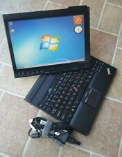 Lenovo Thinkpad X201 Tablet Core i5 160GB HDD 4GB RAM WEBCAM wifi WIN 7