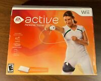 EA Sports Active Personal Trainer Nintendo Wii - Complete in box- w/ game, strap