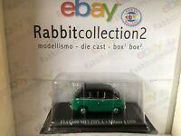 """DIE CAST """" FIAT 600 MULTIPLA MILANO 1958 """" 1/43 TAXI SCALA 1/43"""