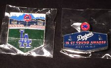 2015 Los Angeles Dodgers Pins Unocal 76 Pin #1 And #2