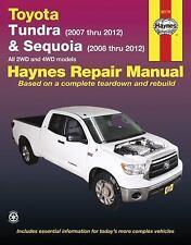 Haynes Toyota (Tundra 2007-2012) & (Sequoia 2008-2012) repair manual