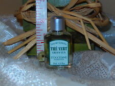 L'OCCITANE THE VERT GREEN TEA MINI EAU DE TOILETTE EDT SPLASH 10 ML/0.33 FL OZ