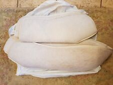 """Horse bandages liners white foam padded 22 """" front high back 28 """""""
