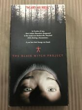 The Blair Witch Project Vhs