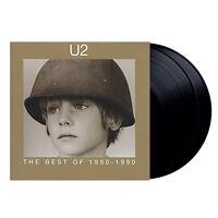 """U2 - The Best Of 1980-1990 (NEW 2 x 12"""" VINYL LP)"""