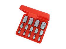 14pc Star E-Socket Female Torx Set Socket Set Chrome Vanadium CRV