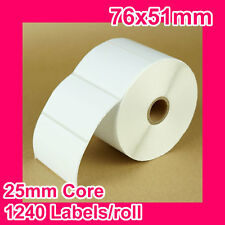 (OUT OF STOCK) 16 rolls of 76x51mm Thermal Direct Label for Zebra/TSC/SATO etc.