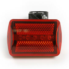 2pcs Bike Bicycle Emergency Safety Warning Lights 5 LEDs 7 Modes w/ Belt Clip