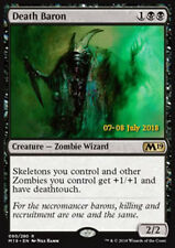 MTG DEATH BARON FOIL ITALIANO EXC - BARONE DELLA MORTE - PROMO - MAGIC
