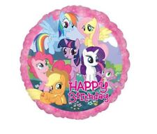 My Little Pony Happy Birthday Foil Balloon Childrens Party Decorations