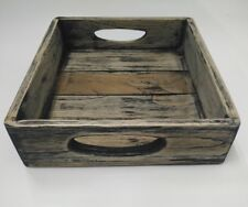 Vintage Wooden Tray Style Shabby Chic Serving Trays Antique Teak Wood