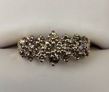 Diamond Gold 1.30Ct Pave Ladies Ring (J557)