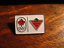 Canadian Tire Olympic Pin - Canada Olympics Games Sports 2012 Maple Leaf London