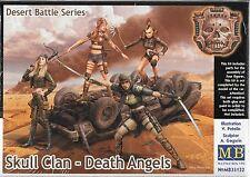 1/35 Master Box 35122 - Skull Clan - Death Angels 4 figure females Model Kit