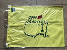 2006 MASTERS FLAG Golf Pin Flag PGA Official Embroidered