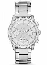 NEW DKNY NY2364 Rockaway Women's Silver Stainless Steel Watch