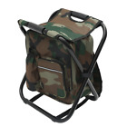 2 in 1 Folding Fishing Chair Bag Fishing Backpack Chair Stool Convenient Wear-Re