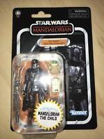 Star Wars Vintage Collection Din Djarin & ChildMandalorian IN HAND! Mint