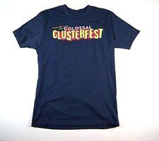 Colossal Clusterfest Comedy Festival Shirt Size Medium  Sf San Francisco