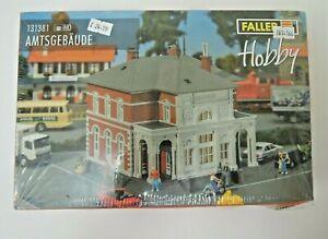Faller 131381 HO Scale Official Building AMTSGEBAUDE Model Kit, Sealed Box