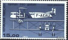 Francia 2428 (edición completa) usado 1984 Aviación Civil