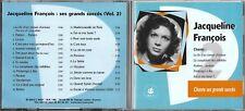 CD 26 TITRES JACQUELINE FRANCOIS SES GRANDS SUCCÈS VOL.2 BEST OF 2003 FRANCE