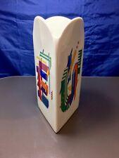 "Rosenthal Vaso 28 ""Morandini Alphabet"" - E / U - 5680 -Happiness - NEW IN BOX -"
