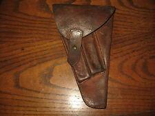 Danish brown leather Lahti holster military 9mm m/40 m/1940 crown