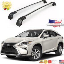 Fit LEXUS RX 350 2016 2017 2018  baggage luggage Tap roof rack cross bar