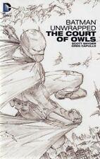 BATMAN UNWRAPPED: THE COURT OF OWLS HC SNYDER/CAPULLO (DC COMICS)