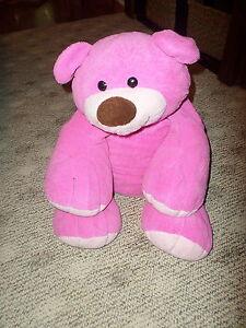"""Large Jumbo 30"""" Dark Pink Animal Alley Plush BEAR (*g16)"""
