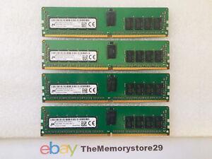 4 x 16GB 2RX8 PC4-2400T  Registered memory DDR4 288 Pin MTA18ASF2G72PDZ-2G3B1II