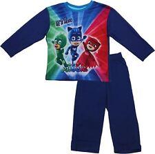 PJ Masks Children's Boys Time To Be A Hero Long Sleeve Pyjama Set