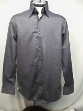Coogi Luxe Casual Button Down Flip Cuff Shirt  Mens XL