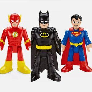 Imaginext DC Super Friends XL Batman Superman The Flash New/boxed