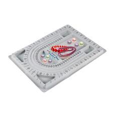 Flocked Bead Board Bracelet Beading Jewelry Design Tray Holder DIY Craft Tool GL