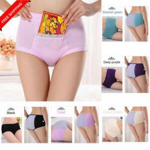 Womens Pocket Underwear Physiological Pants Ladies Briefs Leakproof Panties New