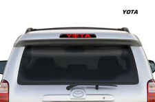 Toyota 4Runner Brake Light Graphic Vinyl Decal Sticker Decal Accessories - YOTA